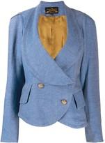 Vivienne Westwood Pre Owned double-breasted peplum jacket