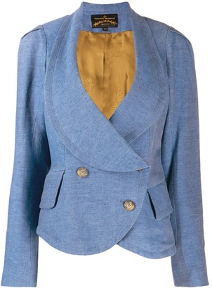 Vivienne Westwood Pre Owned Double-Breasted Peplum Jacket