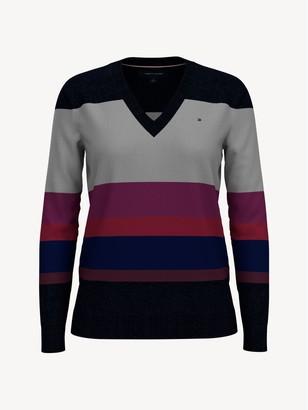 Tommy Hilfiger Essential Block Stripe Sweater