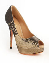 Sebastian Sequined Platform Pumps