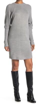 RD Style Dolman Sleeve Sweater Dress