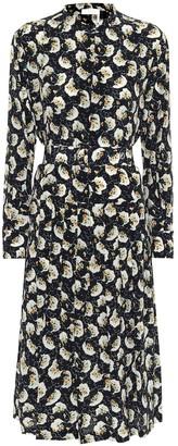Chloé Floral silk dress