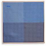 Eton Blue Medallion Pocket Square