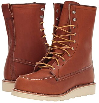 Red Wing Shoes 8 Moc Toe (Oro Legacy) Women's Boots