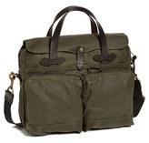Filson Men's '24 Hour' Tin Cloth Briefcase - Black