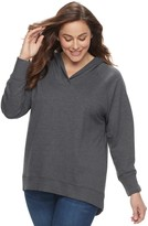 SONOMA Goods for Life Plus Size SONOMA Goods for LifeTM Raglan Hoodie