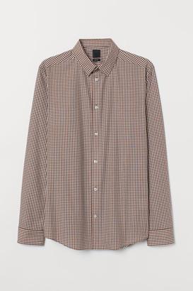 H&M Easy-iron shirt Slim Fit