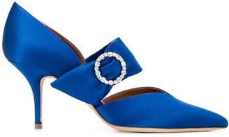 Malone Souliers embellished mid heel pumps