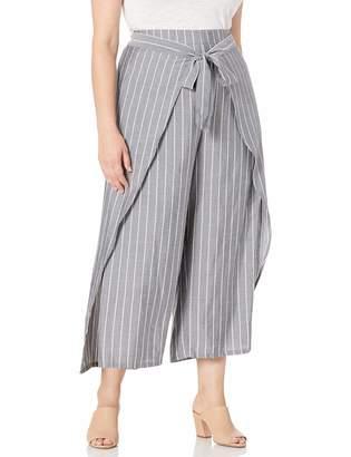 City Chic Women's Apparel Women's Plus Size Pant Simply Swish