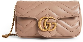 Gucci Super Mini Matelasse Leather Marmont Bag