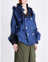 Undercover Ladies Grey Blue Coat