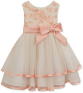 Rare Editions Floral-Bodice Tiered Dress, Baby Girls (0-24 months)