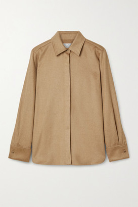 Max Mara Durata Camel Hair Shirt - Tan