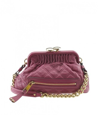 Marc Jacobs Stam Pink Leather Handbags