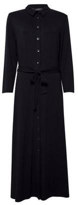 Dorothy Perkins Womens **Tall Black Jersey Shirt Dress, Black