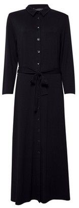 Dorothy Perkins Womens Dp Tall Black Jersey Shirt Dress, Black