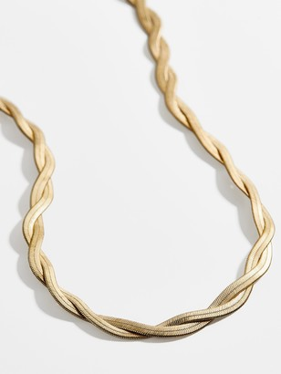 BaubleBar Gema Herringbone Necklace