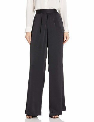 Ramy Brook Women's Satin IRIS Wide Leg Pant