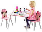 Disney Minnie Mouse Table and 2 Chairs