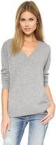 525 America Cashmere V Neck Sweater