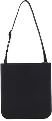 Loro Piana Leather My Way Messenger Bag