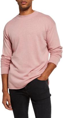 Scotch & Soda Men's Solid Wool-Blend Knit Sweater