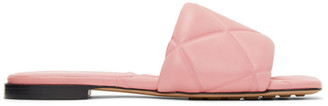 Bottega Veneta Pink Lido Flat Sandals