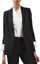 Topshop Women's Slouch Tuxedo Jacket