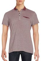 Saks Fifth Avenue Cotton Textured Polo