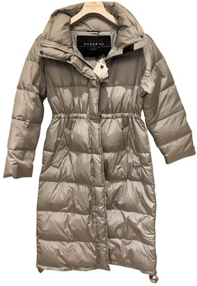 Max Mara Weekend Grey Coat for Women