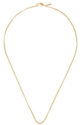 Dezso Wave 18kt Gold Chain-link Necklace - Gold