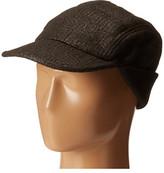 John Varvatos Baseball Hat w/ Knit Warmer