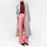 Paul Smith Women's Grey Wool Double-Breasted Long Coat