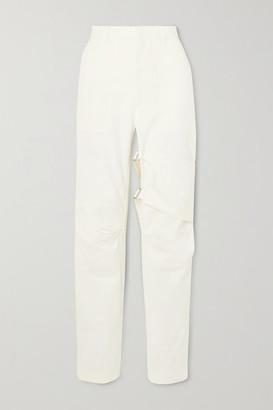 Ambush Buckled Cotton-twill Straight-leg Pants