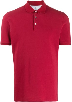 Brunello Cucinelli Classic Collar Fitted Polo Shirt