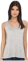 BB Dakota Leana Rayon Jersey and Scalloped Lace Tank Top