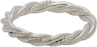 WWW.WILLSHOTT Silver Multi Wire Twist Ring