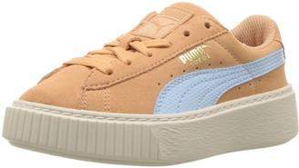 Puma Unisex-Kid's Suede Platform SNK Sneaker