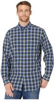 Southern Tide Picket Boat Oxford Sport Shirt (Seven Seas Blue) Men's Clothing
