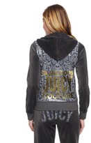 Juicy Couture Logo Velour Glam Python Original Jacket