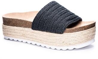 Chinese Laundry Palm Desert Platform Espadrille Slide Sandal