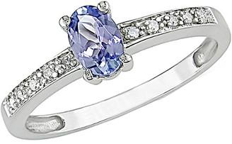 Rina Limor Fine Jewelry 10K 0.50 Ct. Tw. Diamond & Tanzanite Ring