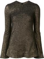 Ellery flare sleeve blouse