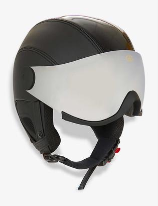Goldbergh Glam visor faux-leather ski helmet
