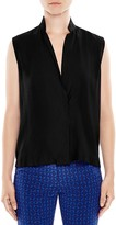 Sandro Louise Sleeveless Top