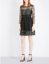 French Connection Molly woven lace dress