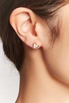 Forever 21 Filigree Brass Stud Earrings