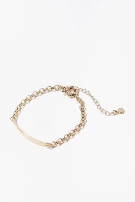 Forever 21 Upcycled Chain Bracelet