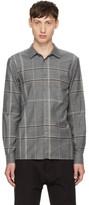 Stephan Schneider Grey Plaid Minute Shirt