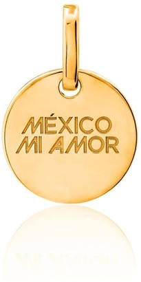 Tane Exquisitely Detailed Mexico My Love Charm In 18K Gold
